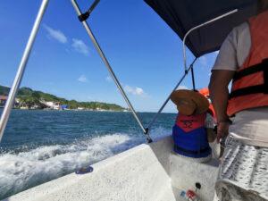 Camino a Isla Grande